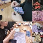 活动回顾:一针一线,点滴幸福 ——布艺手工DIY口金包
