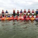 活动回顾:趣味水上运动-皮划艇,清凉一夏