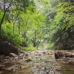 活动回顾:夏日与水亲密接触之溯溪初体验~